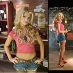 Jessica Simpson in Daisy Dukes