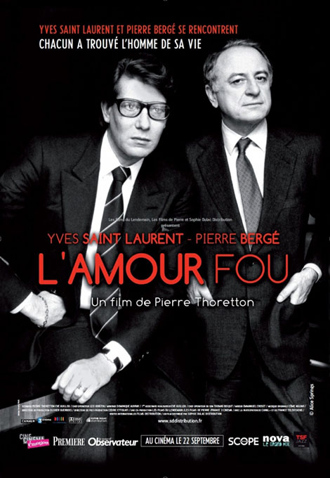 L'Amour fou: The Public Life of Yves Saint Laurent
