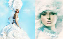 beauty and advertising campaign