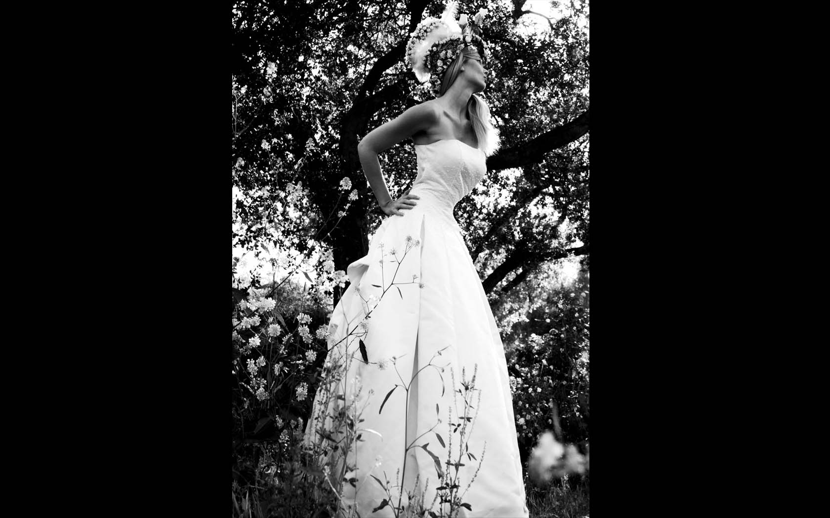 fashion wedding dress by best fashion photographer